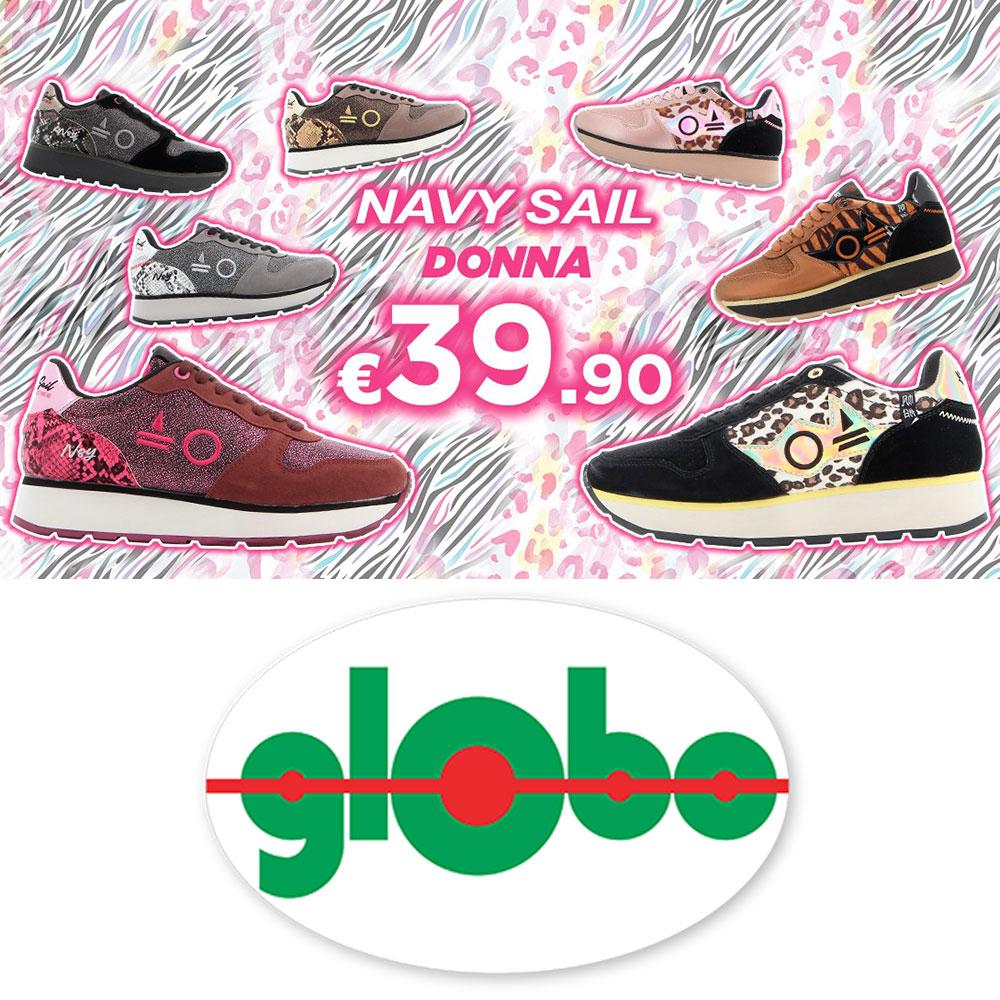 Promo Globo - Sneakers NAVY SAIL - Valida dall'11 ottobre 2021